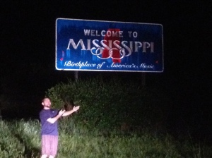 Before the galaxy camera and definitely before the Nikon. The humidity was getting to the poor Iphone camera. Welcome to Mississippi sometime around midnight.