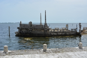 Built completely out of stone overlooking Biscayne Bay, this Italian barge was an icon to Mr. Deering's guests.