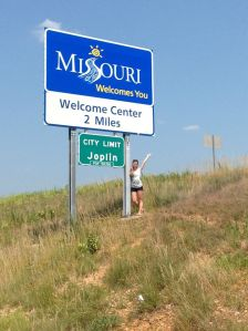 Maybe we'll see you next time Joplin. It also took a lot longer to get through Missouri than I expected.