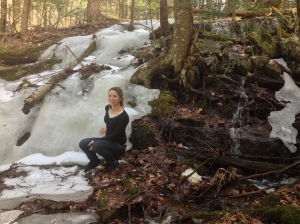 We also missed Massachusetts despite driving through the state like four times. Check out this frozen waterfall!