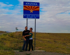 Arizona's humble greeting, considering it houses one of the most iconic destinations in the US.
