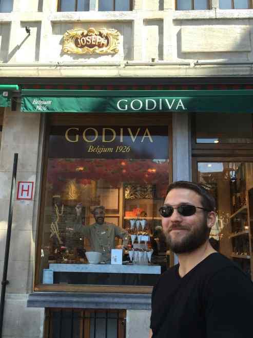 Happy Godiva Chocolatier!
