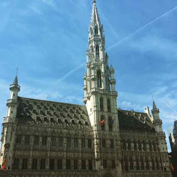 Pre 17th Cent: Brussels Town Hall