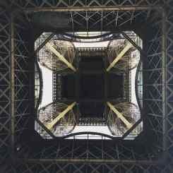 Underbelly of the Eiffel
