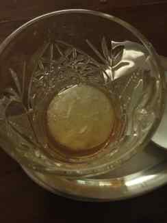 Frozen Absinthe ball!