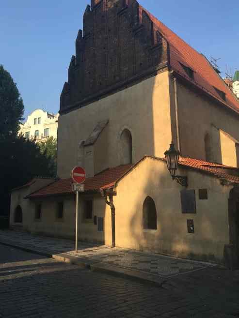 Europe's Oldest Synagogue - the Old New Synagogue