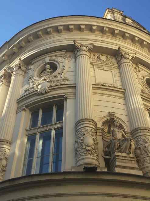 Decorated, ornate architecture