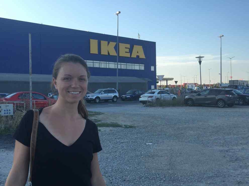 A hell-in-a-handbasket IKEA