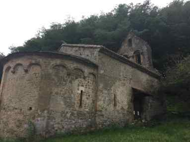 12th century church in the Ariege
